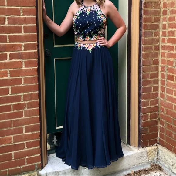 Tiffany Designs Dresses & Skirts - Two Piece Prom Dress